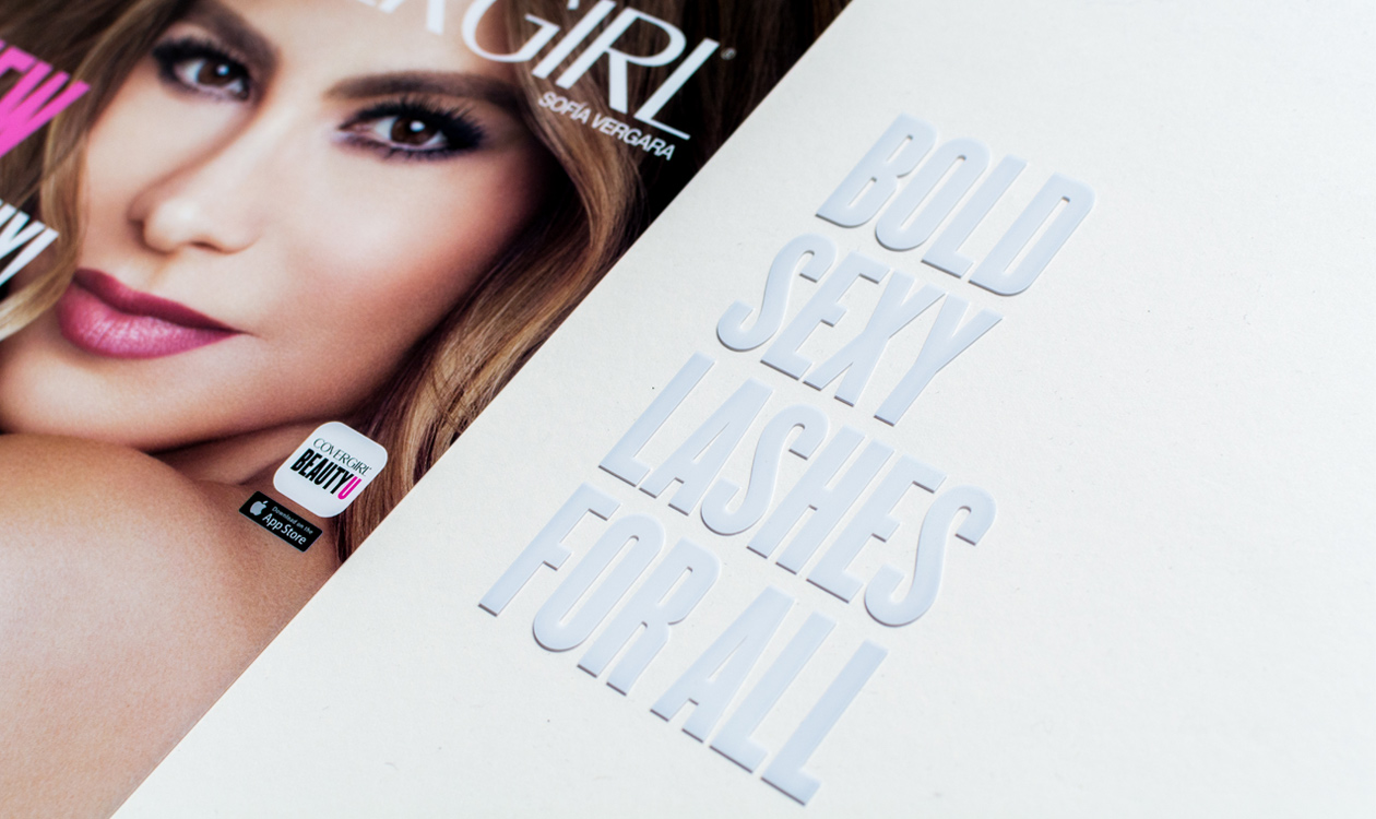 vinyl covergirl header printed