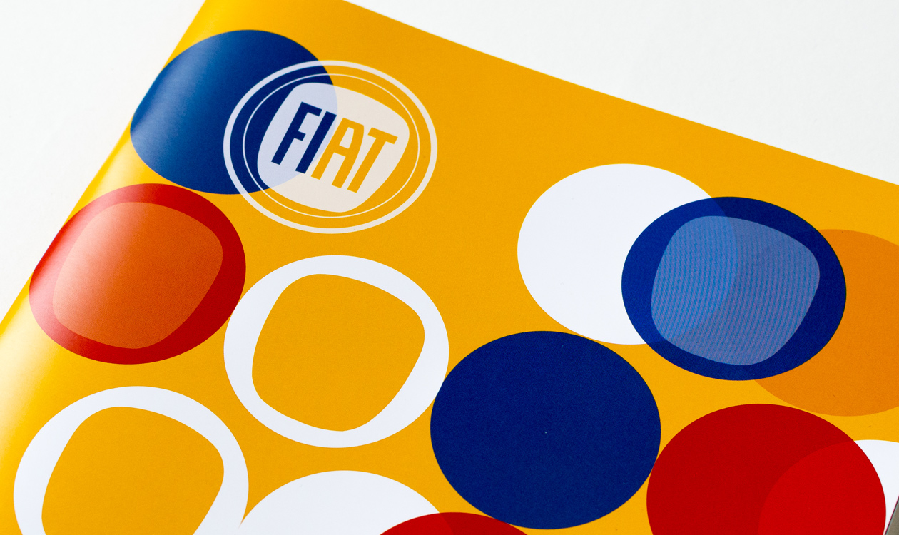 fiat brochure printing - high octane colour